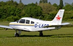 DSC 0006 -- G-LACB, Piper PA28-161 Cherokee, Lancashire Aero Club, at City Airport manchester/Barton, 23rd May 2019.