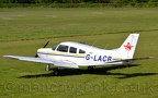 DSC 0022 -- G-LACB, Piper PA28-161 Cherokee, at City Airport Manchester (Barton), 23rd May 2019.