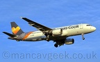 Photo of the Day 2019-09-23 -- <p>LY-VEB, Airbus A320-214, Thomas Cook, on final approach to Manchester Airport, 23rd May 2019.</p>